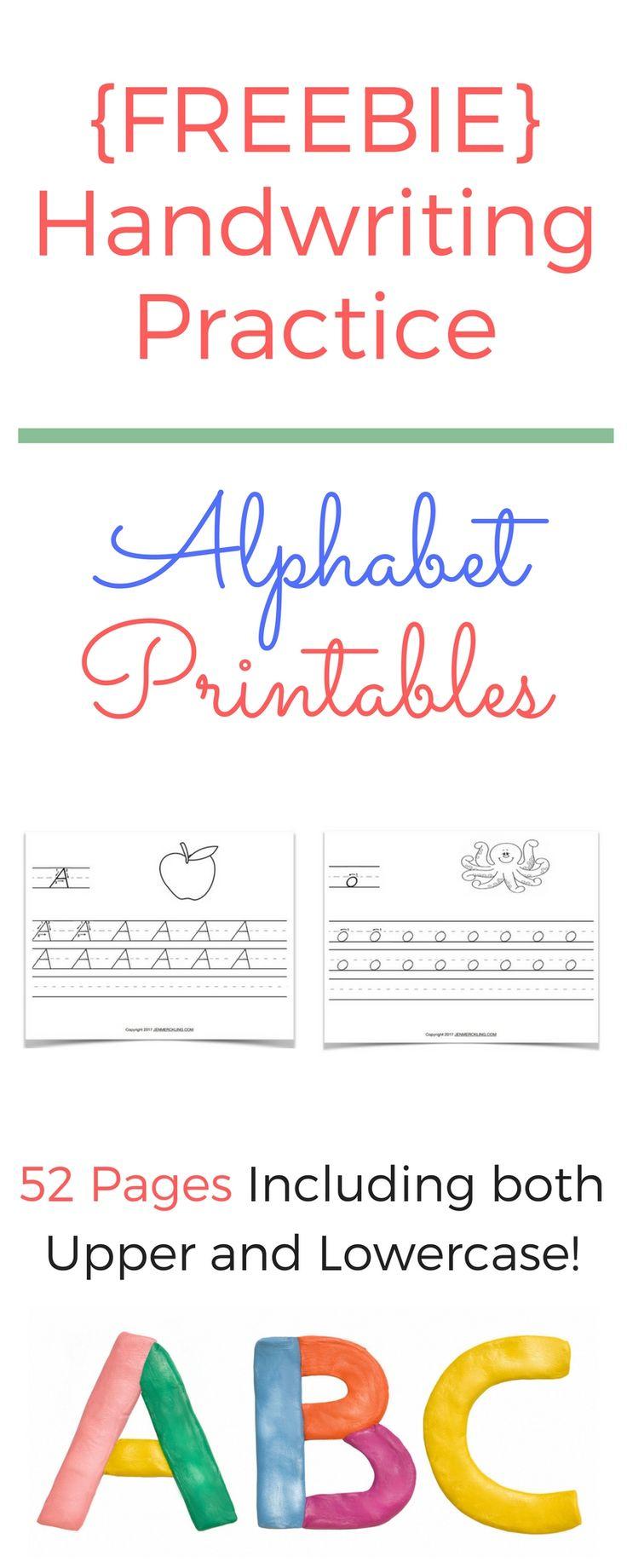 Free Handwriting Worksheets!