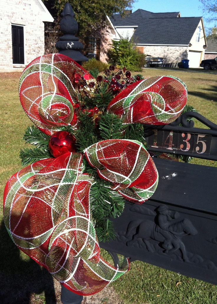 24 Best Images About Christmas Mailboxes On Pinterest