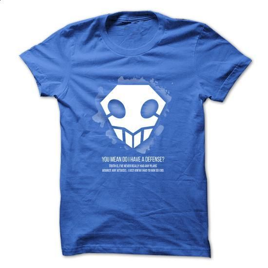 Anime T-Shirt - Bleach - I Just Knew I Had To Win So I Did - #linen shirts #funny t shirts for women. SIMILAR ITEMS => https://www.sunfrog.com/Movies/Anime-T-Shirt--Bleach--I-Just-Knew-I-Had-To-Win-So-I-Did.html?60505
