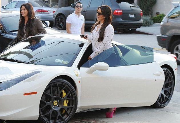 Kim Kardashian's Ferrari 458 Italia. Check out FULL list ...