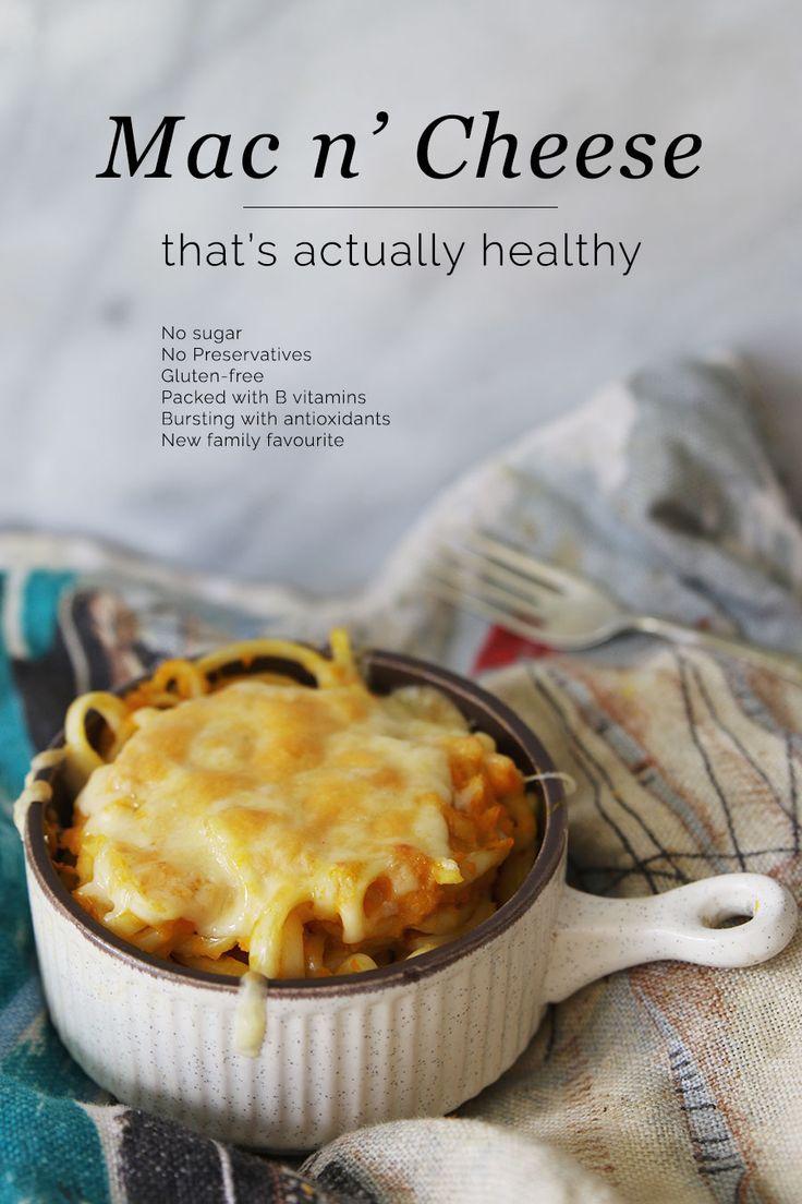 Mac-n-Cheese-healthy #glutenfree #Macncheese