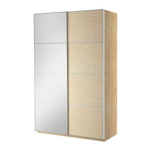 PAX Garderob med skjutdörrar - 150x66x236 cm - IKEA