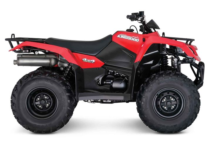 New 2017 Suzuki KingQuad 400 FSi ATVs For Sale in Florida. 2017 Suzuki KingQuad 400 FSi, In 1983, Suzuki introduced the world's first 4-wheel ATV. Today, Suzuki ATVs are everywhere. From the most remote areas to the most everyday tasks, you'll find the KingQuad powering a rider onward. Across the board, our KingQuad lineup is a dominating group of ATVs. The 2017 Suzuki KingQuad 400FSi features a five-speed manual-shift transmission and semi-automatic clutch for those who favor a bit sportier…