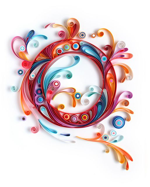 Quilled design by Yulia Brodskaya featured in PAPER CUTS, an exhibit this May (2014) at Spoke Art in San Francisco.