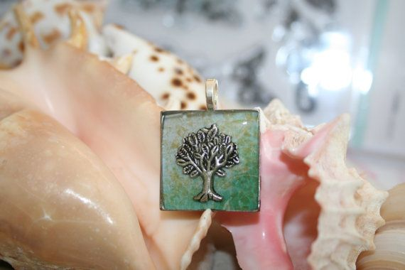 Tree of Life Pendant Necklace by JewelleryByJody on Etsy, $25.00