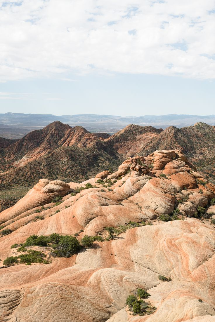 Can't get to the Wave? Consider checking out Yant Flats in Utah/ See and Savour