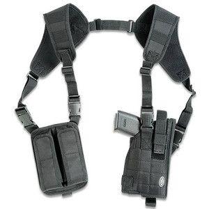 UTG Sport Tactical Law Enforcement Vertical Shoulder Holster Black Airsoft Gun Accessory