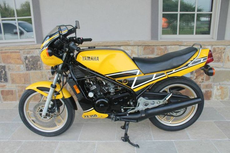 Yamaha Rz 1000: Super Clean Smoker 1984 Yamaha Rz350 With
