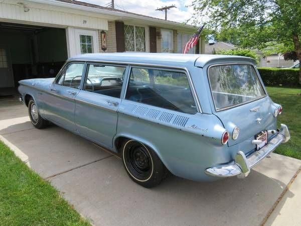 Learn More About Rare Wagon Project 1961 Chevrolet Corvair