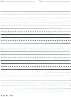Printable Blank Writing Worksheets