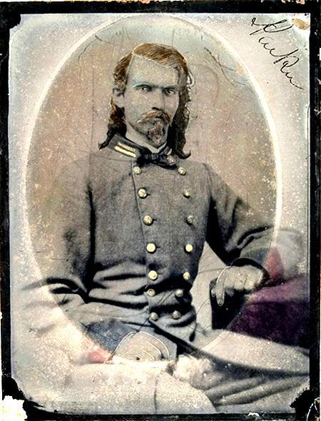Photo of unidentified Confederate First Lieutenant courtesy Cowan Auctions.