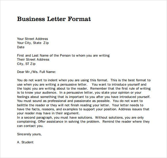 Best 25+ Official letter format ideas on Pinterest Official - formal letter word template