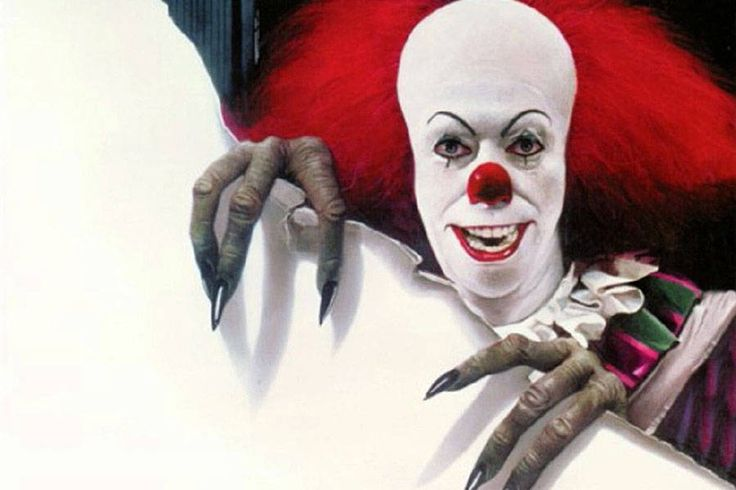 Get a look at the freaky clown from the new 'It.'