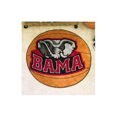 FANMATS NCAA University of Alabama Basketball Mat
