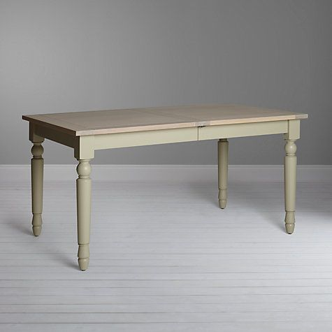 £960 Buy Neptune Suffolk 6-10 Seater. 6 seater £670 Seasoned Oak Extending Dining Table, Honed Slate Online at johnlewis.com