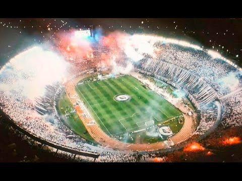 Inmenso recibimiento en la final de la Libertadores