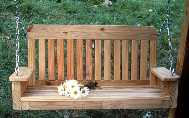 Cottage Porch Swing Plan