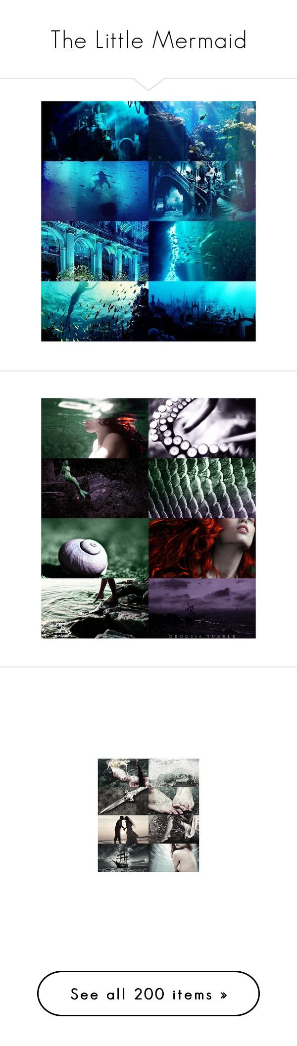 """""""The Little Mermaid"""" by srta-sr ❤ liked on Polyvore featuring smrlittlemermaid, backgrounds, ariel, mermaids, disney, fantasy, mermaid, the little mermaid, pics and pictures"""