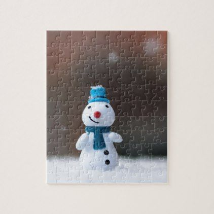 Winter Christmas Snow Toy Jigsaw Puzzle - winter gifts style special unique gift ideas