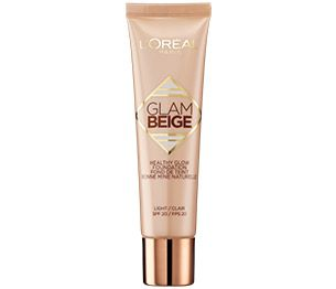 Flüssig-Make-Up von L'Oréal Paris. Glam Beige Healthy Glow Foundation
