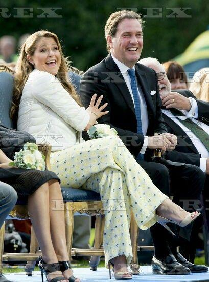 Crown Princess Victoria 38th birthday celebrations, Borgholm, Oeland, Sweden - 14 Jul 2015  Princess Madelaine of Sweden 14 Jul 2015