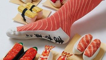 Sushi Socks, Fun and Delicious Pairs of Socks Made to Look Like Various Types of Sushi