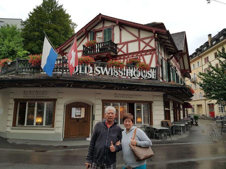 Menikmati makanan khas Eropa yang super lezat di Old Swiss House, Lucern, Switzerland.  photo by Holden  Old Swiss House, Lucerne, Switzerland #witajourney #witatour #witatourtravel #luxurytravel #travelblog #tour #europe #europetour #europeantour #beautifuldestinations #journey #adventure #travelblogger #swiss #switzerland #lucerne #oldswisshouse