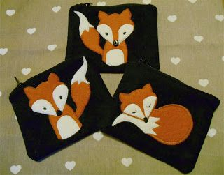 Fox Coin Purse Tutorial with Felt and Wool ~ handmade by eva rose