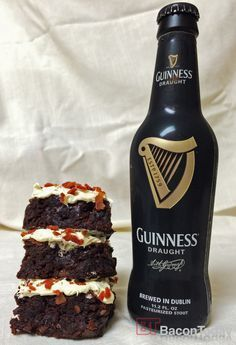 Guinness Bacon Brownies!