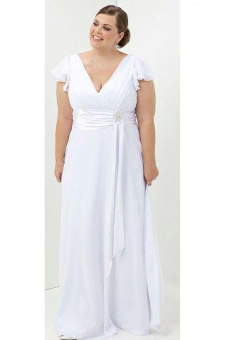 Awesome plus size wedding dress