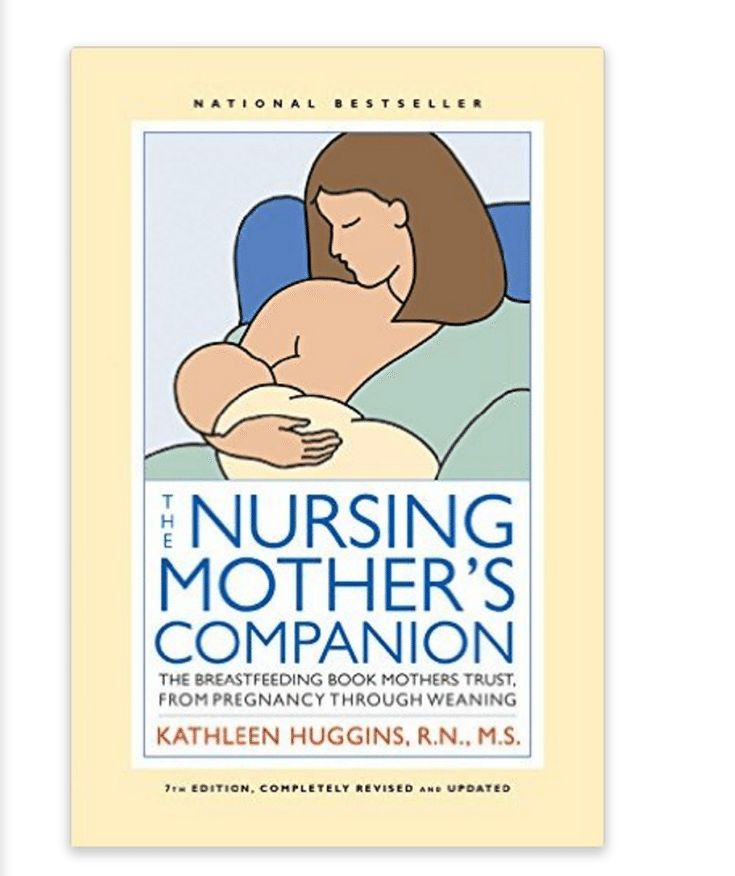 6 Recommended Breastfeeding Books: The Nursing Mother's Companion
