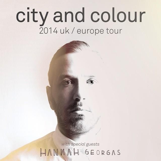 City and Colour has embarked on their UK/EU tour with labelmate Hannah Georgas. Click for a full list of dates!