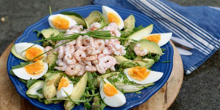 Rekesalat med egg – Berit Nordstrand