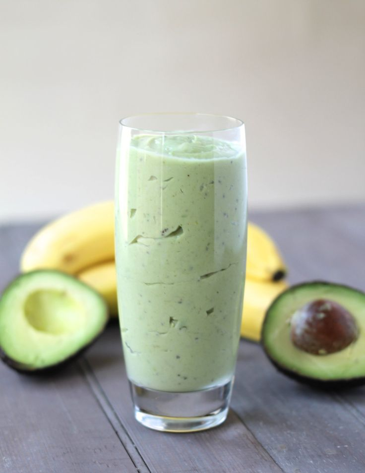 Mal was anderes, Avocado Banane. Klingt lecker! #smoothie #healthy #getfit