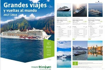 El Corte Ingles: Viajes en Crucero y Vueltas al Mu...