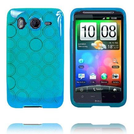 Amazona (Lyseblå) HTC Desire HD Cover