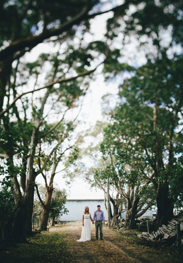 Kirsty and Daves vintage wedding in New Zealand. Featured on Hello May.