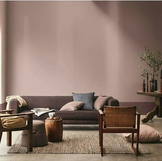 Ruby Wine Color // Home Decor Inspirations