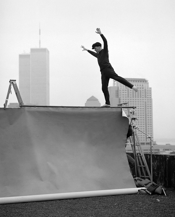 Philippe Petit by Annie Leibovitz