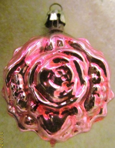 vtg antique christmas mercury glass pink rose 1 12 feather tree ornament ebay mercury glass pinterest feather tree antique christmas and mercury