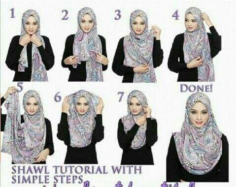 Shawl tutorial