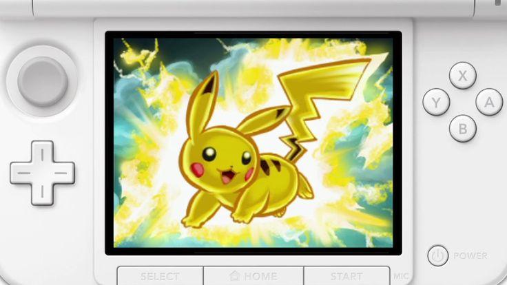 ポケモンアートアカデミー 紹介映像 Pokemon Art Academy, Nintendo 3DS