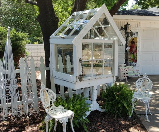 Best Wardian Case From Old Windows Images On Pinterest - Build small greenhouse with old windows
