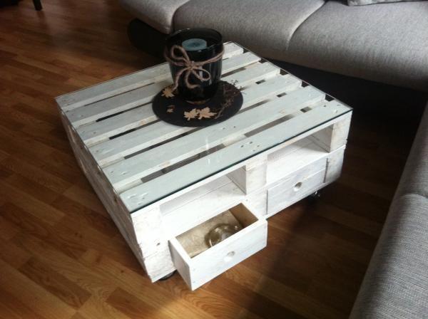 Individuelle Mobel Selber Bauen Couchtisch Palette Couchtisch Europalette Paletten Tisch
