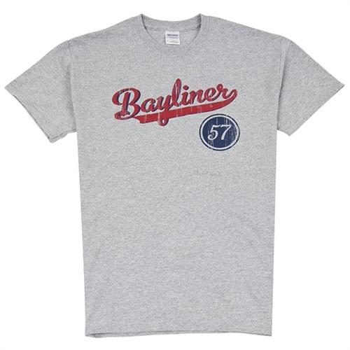 Baseball Tee - Sport Grey #bayliner