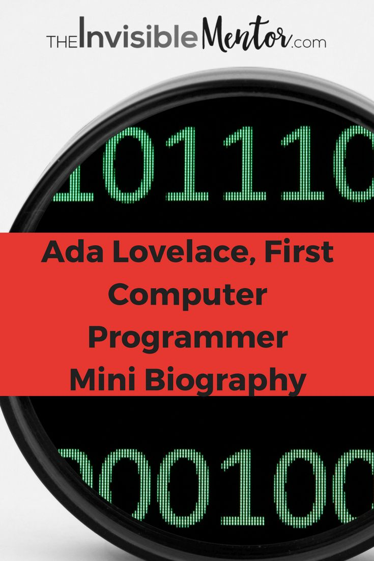 This is a mini biography of Ada Lovelace. Both women and girls should read about this super-badass female scientist who was ahead of her time and you will learn from her life. Although she was born over two centuries, there are many lessons you will glean from the article. She possessed business savvy and paved a way for herself. You might be interested in knowing that the Poet, Lord Byron was her father. Click through to read my mini biography, Ada Lovelace, First Computer Programmer.
