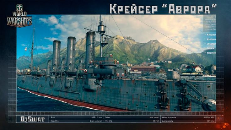 Крейсер «Аврора» в World of Warships [Премиум корабль]