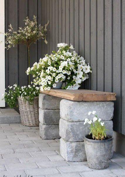 trädgård soffa diy bank tips ide inspiration
