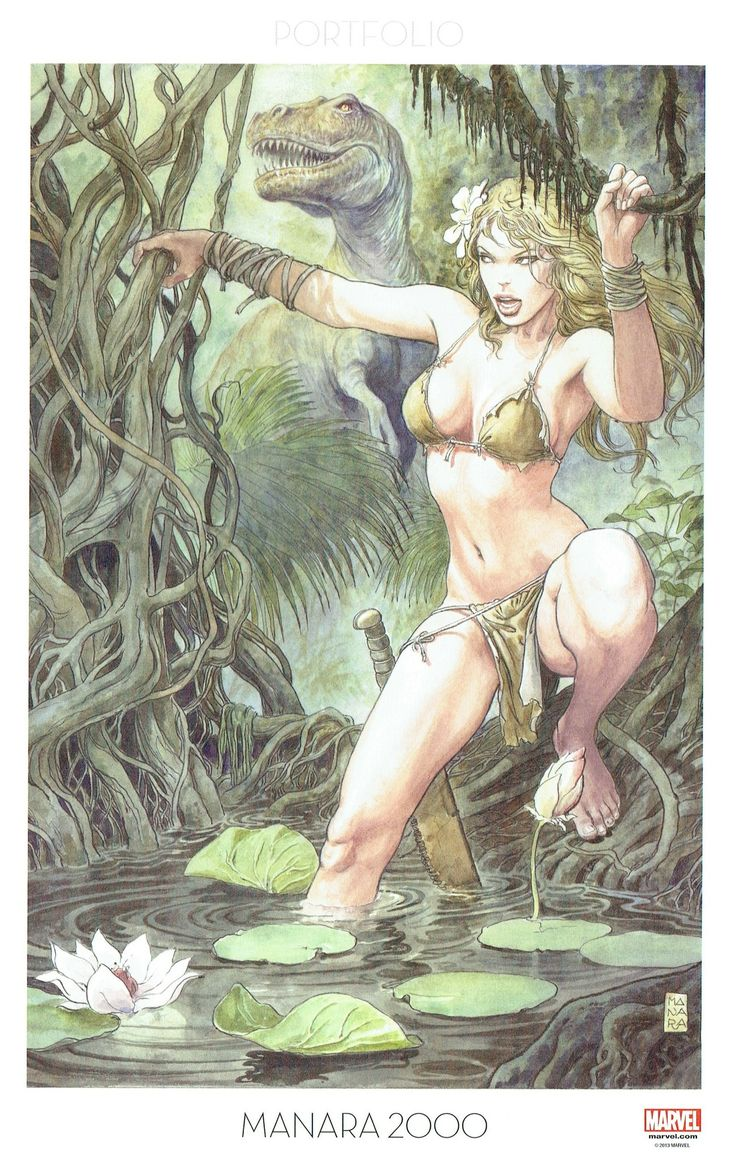 Milo Manara - Vol. 9, Manara 2000-199 (Savage Wolverine)