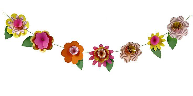 Party Ark's 'Fancy Flowers Garland'